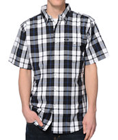 Matix Clientel Black & White Plaid Button Up Shirt