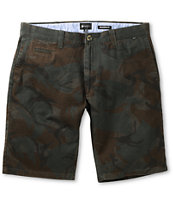 Matix Compton Camo Slim Straight Chino Shorts