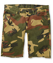 Matix Gripper Camo Slim Straight Twill Shorts