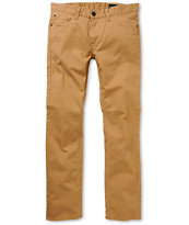 Matix Gripper Caramel Twill Slim Pants
