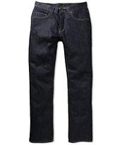 Matix Gripper Deep Blue Raw Skinny Jeans