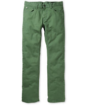 Matix Gripper Green Twill Slim Pants