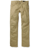 Matix Gripper Khaki Twill Slim Pants