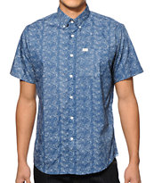 Matix Haze Floral Button Up Shirt