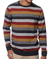 Matix MJ Classic Orange Stripe Sweater