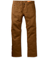 Matix Marc Johnson Gripper Cocoa Brown Denim Slim Jeans