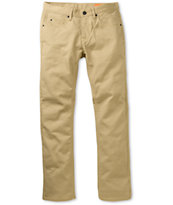 Matix Marc Johnson Gripper Khaki Denim Slim Jeans