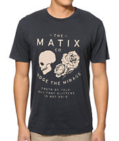 Matix Mirage Black Tee Shirt