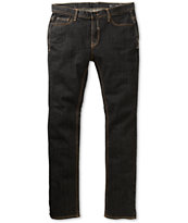 Matix Nigel Sulfur Black Raw Denim Skinny Jeans