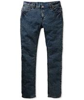 Matix Nigel Sulfur Blue Super Skinny Jeans