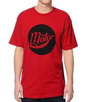 Matix On The Rise Red Tee Shirt