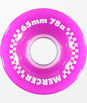 Mercer 65mm 78a Purple Skateboard Wheels
