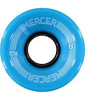 Mercer Blue 60mm Skateboard Wheels
