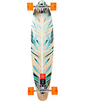 "Mercer Feathered 37.25"" Pintail Longboard Complete"