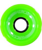 Mercer Lime Green 70mm Skateboard Wheels