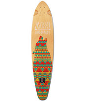 Mercer Lone Wolf 37.5 Pin Tail Longboard Deck