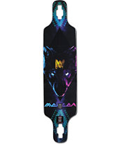 "Mercer Mystic Wolf 40"" Drop Through Longboard Deck"