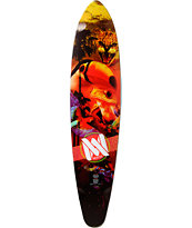 "Mercer Rare Fruits 37.5"" Pintail Longboard Deck"