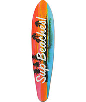 "Mercer Sup Beaches 35.5"" Pintail Longboard Deck"