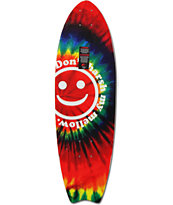 "Mercer Tie Dye 28.25"" Cruiser Skateboard Deck"
