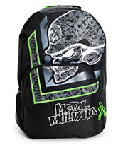 Metal Mulisha Acid Rain Black & Lime Backpack