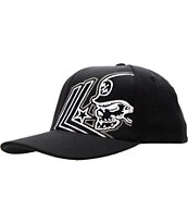 Metal Mulisha Apart Curved Black Flexfit Hat