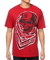 Metal Mulisha Big Moves Red Tee Shirt