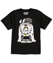Metal Mulisha Boys Bulldoggen Black Tee Shirt