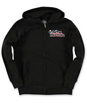 Metal Mulisha Boys Burn Black Zip Up Hoodie