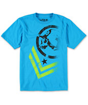 Metal Mulisha Boys Decline Blue Tee Shirt