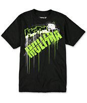 Metal Mulisha Boys Drip Black Tee Shirt