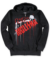 Metal Mulisha Boys Drip Charcoal Zip Up Hoodie