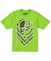 Metal Mulisha Boys Filler Bright Green T-Shirt