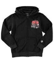 Metal Mulisha Boys Fuel Zip Up Hoodie