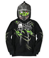 Metal Mulisha Boys Gory Destruction Black Face Mask Hoodie