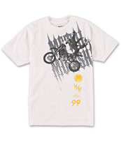 Metal Mulisha Boys Jumper Boys White Tee Shirt