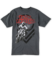 Metal Mulisha Boys Ride Charcoal Tee Shirt