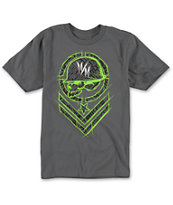 Metal Mulisha Boys Shred Charcoal Tee Shirt