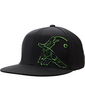 Metal Mulisha Cast Black & Green Flexfit Hat