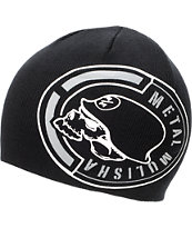 Metal Mulisha Central Black Beanie