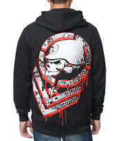 Metal Mulisha Chevster Charcoal Zip Up Hoodie