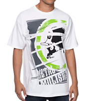 Metal Mulisha Cropped White T-Shirt