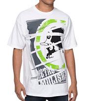 Metal Mulisha Cropped White T-Shirt