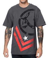 Metal Mulisha Decline Charcoal Tee Shirt
