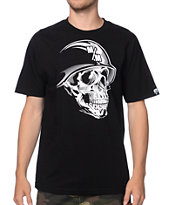 Metal Mulisha Faced Black & White Tee Shirt
