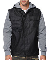 Metal Mulisha Genuine Black Hooded Jacket