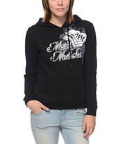 Metal Mulisha Girls Hot Ride Black Pullover Hoodie