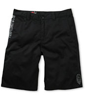 Metal Mulisha Heptad Black Chino Shorts