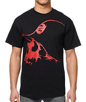Metal Mulisha Hitcher Black & Red Tee Shirt