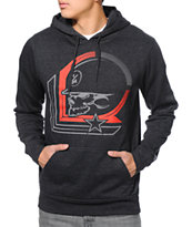Metal Mulisha Low Key Charcoal Pullover Hoodie